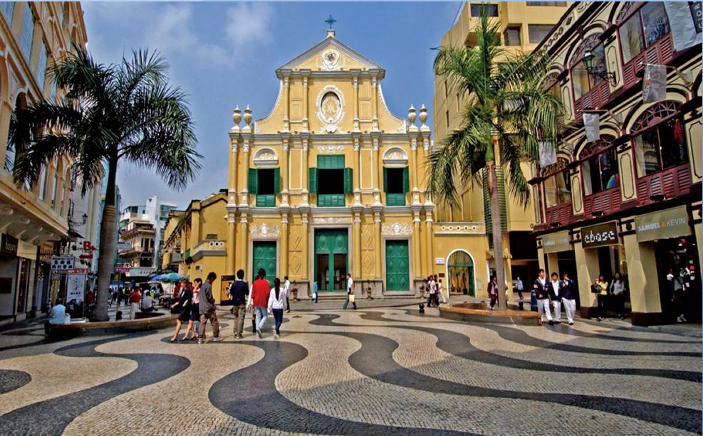 Наследие периода португальского колонизаторства - Церковь Св. Доминика. Источник фото: dic.academic.ru