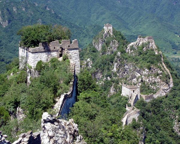 Великая Китайская стена. Отрезок Цзянькоу Фото: Архив