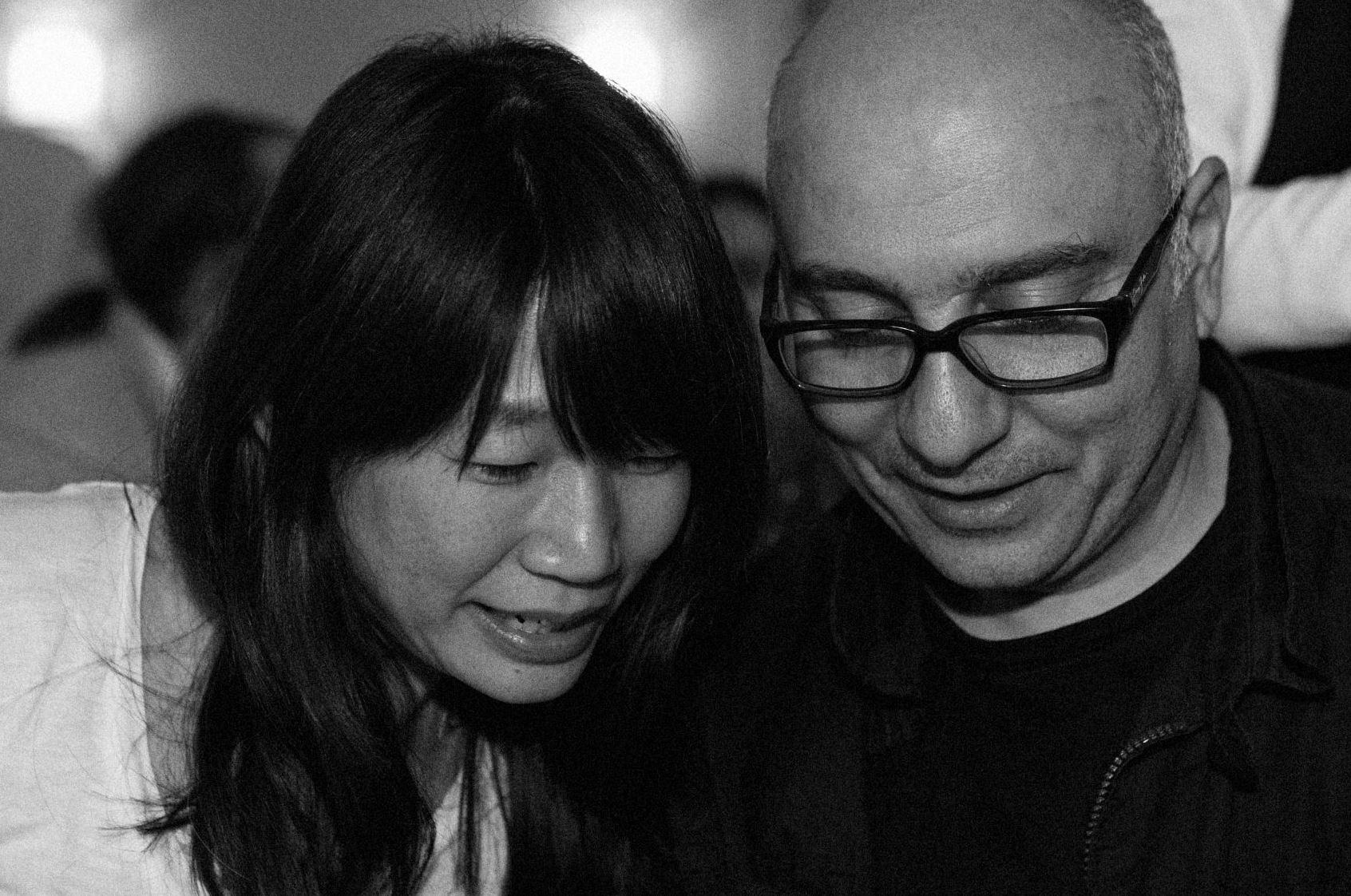 Мадлен Тьен и Рави Хаг на Международном литературном фестивале в Берлине в 2011 году. Фото: literaturfestival.com