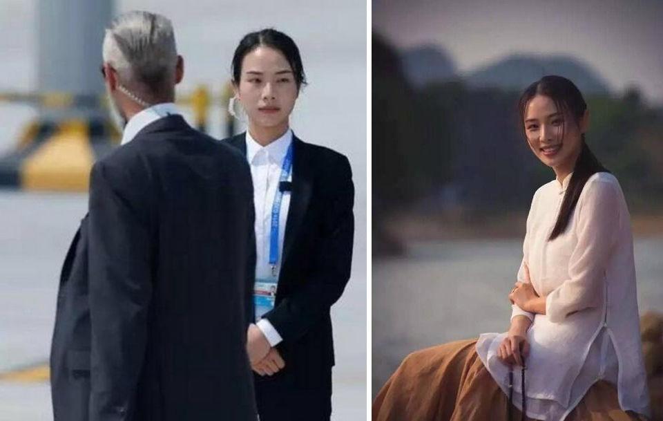 Красотка-телохранитель из Китая взорвала интернет