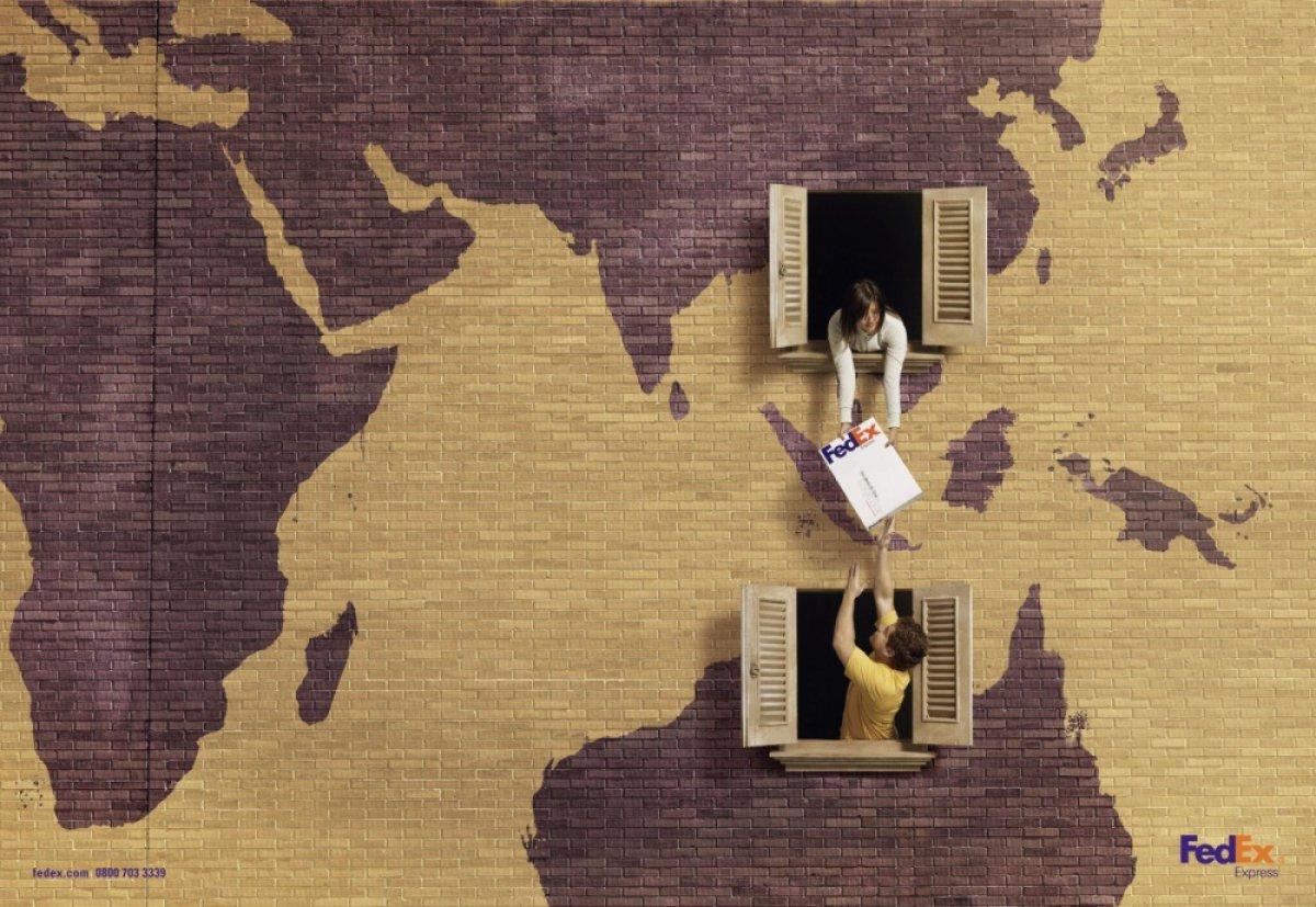 Рекламная кампания FedEx, агентство Quad Studio. Источник: ArtStation