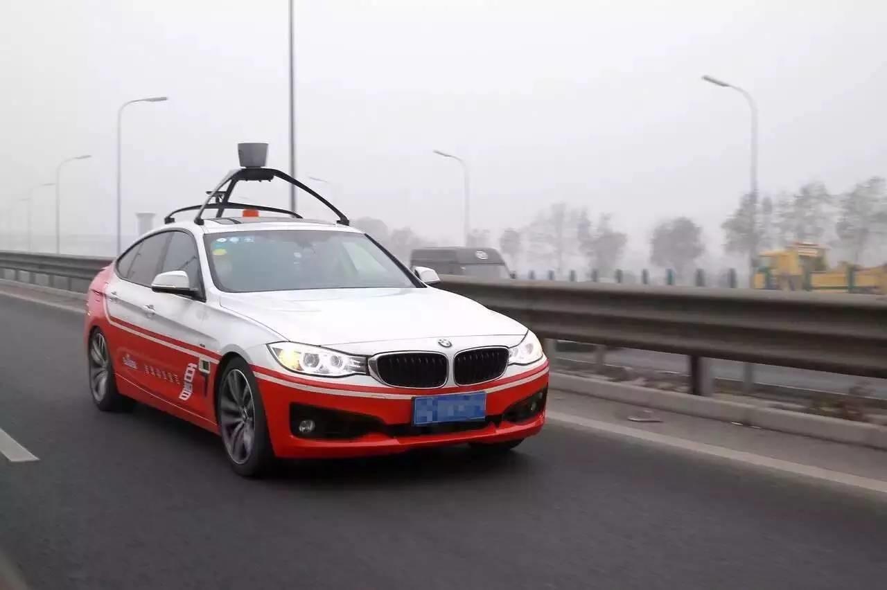 Автомобиль без водителя от Baidu. Источник: chuansong.me