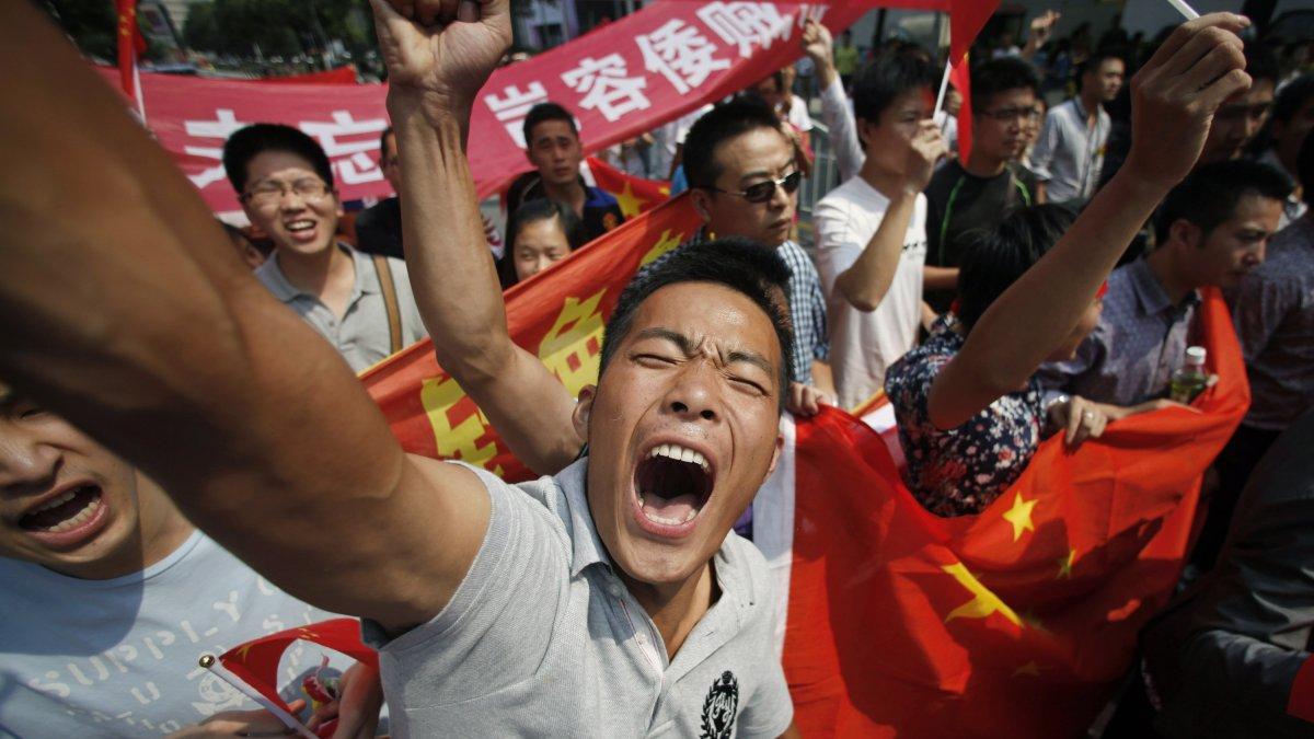 Агрессивный национализм китайцев беспокоит правительство