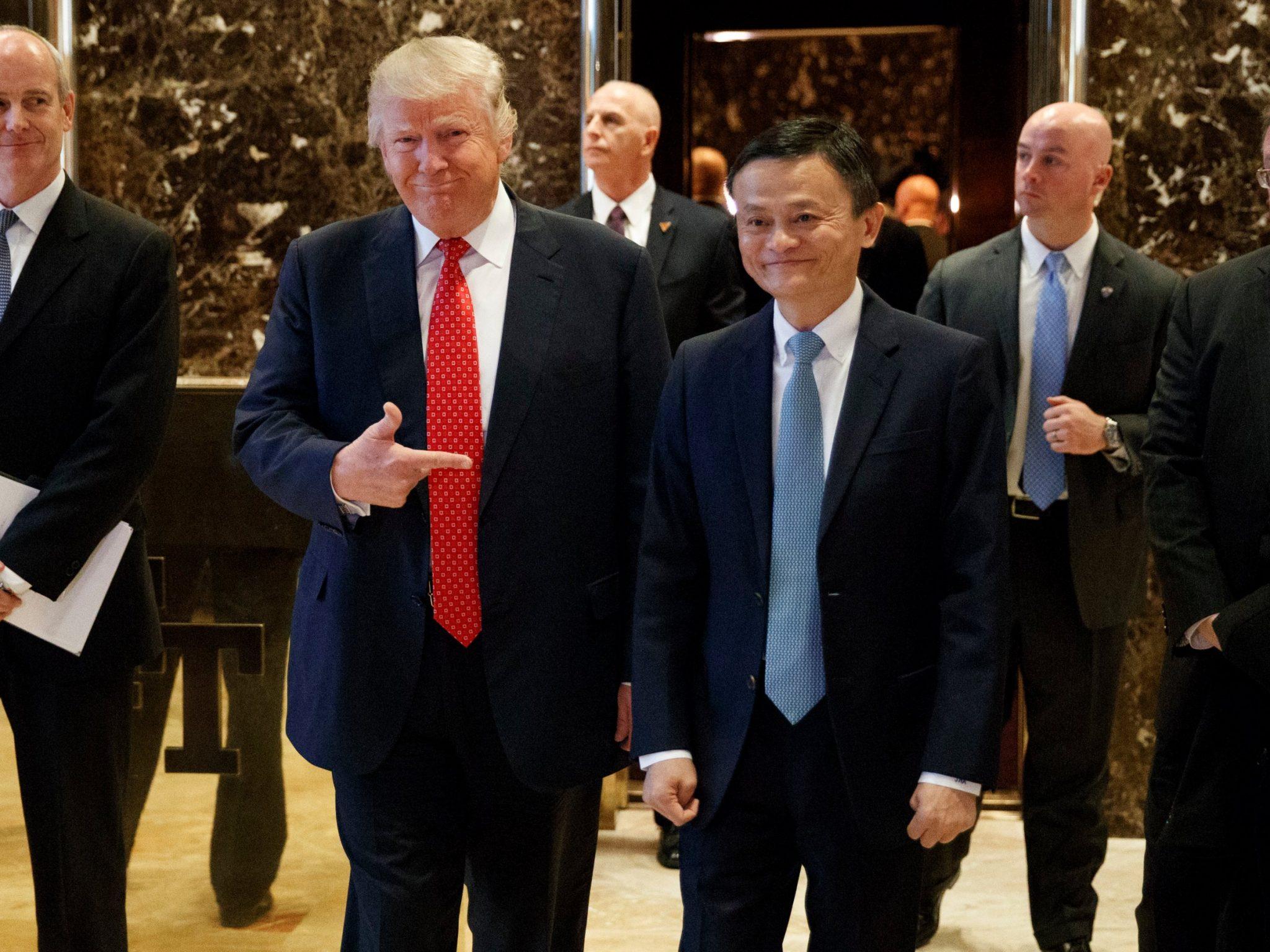 Джек Ма пообещал создать 1 млн рабочих мест в Америке