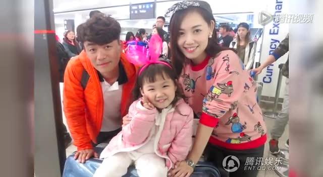 Ван Баоцян с женой Ма Жун