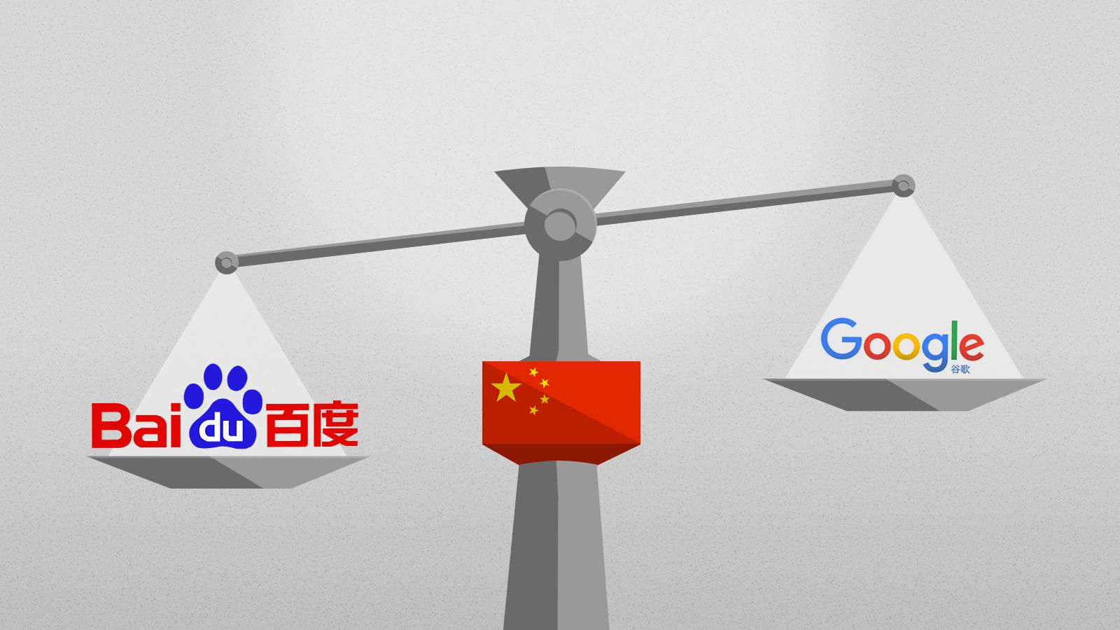 Baidu против Google в Китае: кто кого?