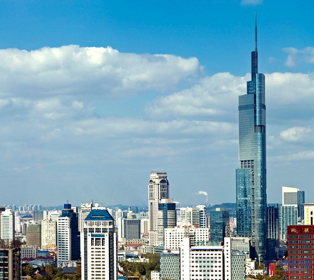 Финансовый центр Наньцзин-Гринлэнд (南京紫峰大厦)