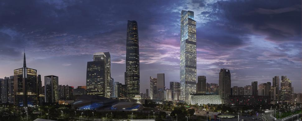 Гуанчжоуский финансовый центр CTF (廣州周大福金融中心)