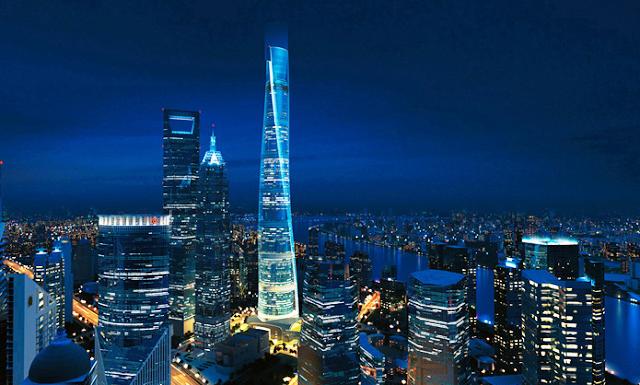 Шанхайская башня (上海中心大厦)