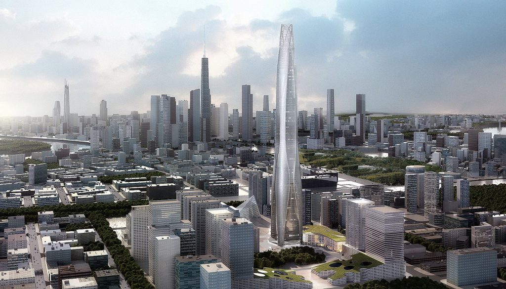 Тяньцзиньский финансовый центр CTF (天津周大福金融中心)